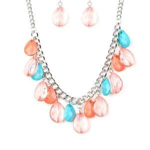 Multi necklace/earrings paparazzi